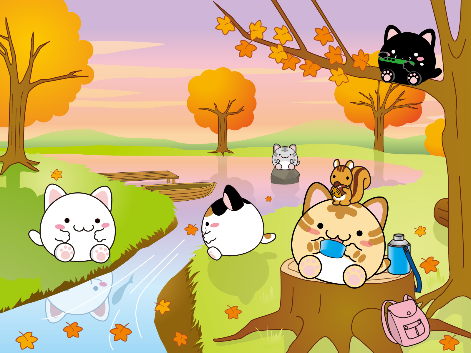 Pictures Of Cute Chibi Cat Wallpaper Rock Cafe